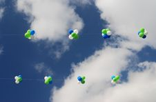 Free Balloons In The Sky Royalty Free Stock Photos - 7019658