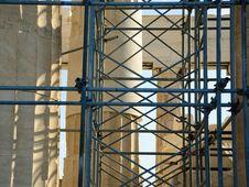 Free Scaffolding At The Parthenon Royalty Free Stock Photo - 7019765