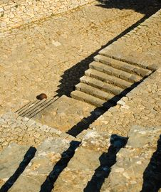 Free Castle Palamidi Steps, Nafplio, Greece Stock Photo - 7019940