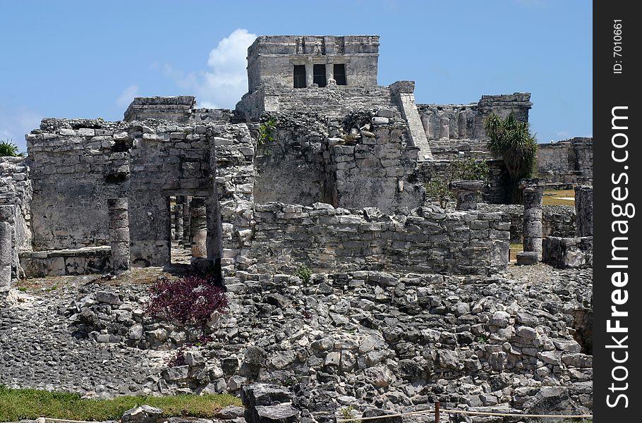 Tulum Temple Ruins