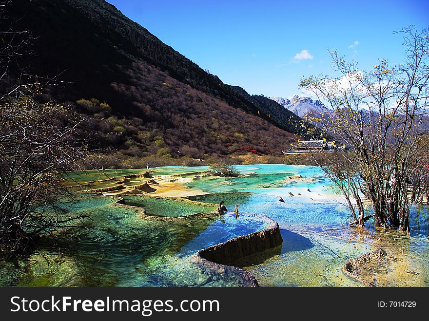 Colorful Ponds of Huanglong