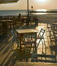 Free Restaurent Beach Sunset Stock Images - 7023624