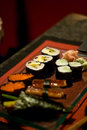 Free Sushi Set In A Restaurant Stock Photo - 7028520