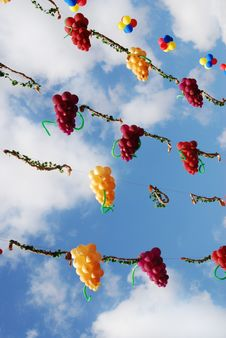 Free Balloons In The Sky Stock Photo - 7020140