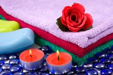 Free Spa Set Royalty Free Stock Photo - 7020665