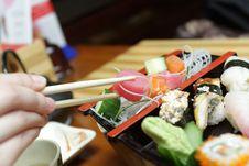 Slice Row Fish Stock Photos
