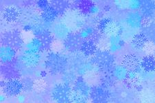 Free Snowflakes - Winter Background Stock Images - 7020824
