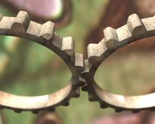 Free Two Old Gears Stock Photo - 7020960
