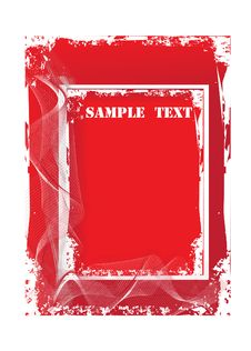 Free Abstract Grunge Vector Background Royalty Free Stock Photography - 7021157
