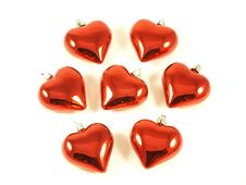 Free Chrismtas Hearts. Royalty Free Stock Images - 7021269