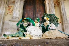 Free Venice Masks, Carnival. Royalty Free Stock Image - 7021546