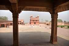 Free Indian Architecture In Fatehpur Sikri. Rajasthan Royalty Free Stock Photos - 7021958