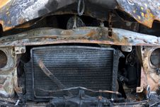 Free Burnt Van Stock Photo - 7022020