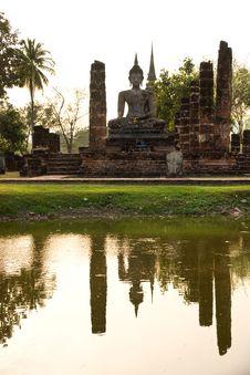 Free Wat Mahathat, Sukhothai, Thailand, Stock Photography - 7022152