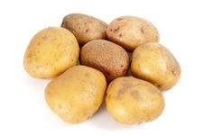 Free Some Potatoes Stock Image - 7022321