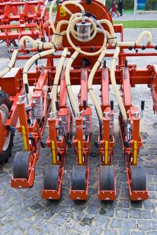 Free Hydraulic Agriculture Machine Royalty Free Stock Photo - 7022335