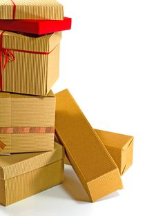 Free Stack Of Cardboard Boxes Royalty Free Stock Photo - 7022625