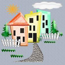 Free Abstract Neighborhood Stock Images - 7022744