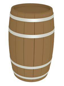 Free Wooden Barrel Royalty Free Stock Photo - 7022915