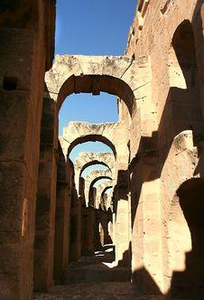 Free Antique Coliseum Arches Stock Photos - 7023133