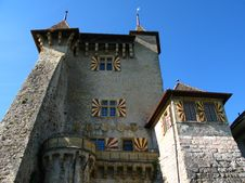 Free Chateau De Vaumarcus, Neuchatel, Switzerland Stock Photos - 7023193