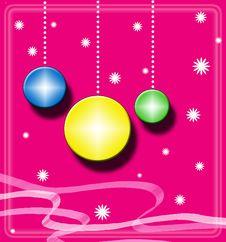 Free Christmas Balls Stock Images - 7023514