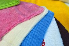 Free Colorful Towels Stock Image - 7023651