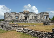 Free Tulum Mayan Ruins Stock Image - 7023781