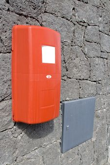Free A Fire Extinguisher On A Wall. Stock Photos - 7024683