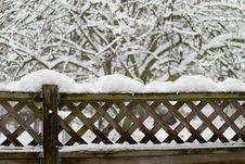 Free Winter Wonderland Scene Stock Photography - 7025022