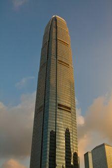 Free IFC  Hong Kong Dusk Stock Image - 7025231
