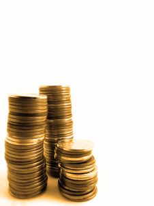 Free Stacks Of Pennies Stock Photos - 7026033