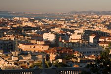 Free Sunrise Over Nice, France Stock Photo - 7026260