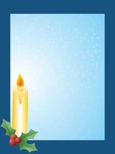 Free Christmas Candle Stock Images - 7026774