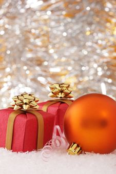 Free New-Year Decorations Royalty Free Stock Photography - 7027367