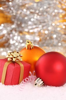 Free New-Year Decorations Royalty Free Stock Photos - 7027368