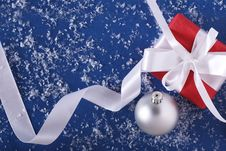 Free New-Year Decorations Royalty Free Stock Photography - 7027377