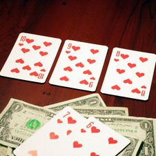 Free Player In Poker Royalty Free Stock Image - 7027416