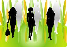 Free Three Girls Stock Image - 7027551