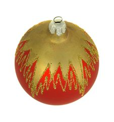 Free Isolated Red Christmastree Ornament Stock Photos - 7028333