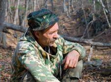 Free Man In Camouflage 9 Stock Photography - 7028362
