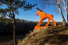 Free Orange Moose Stock Images - 70297904