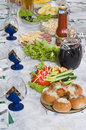 Free Food On A Dining Table. Stock Photos - 7030003