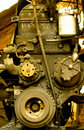 Free Old Diesel Engine Close-up Royalty Free Stock Images - 7032479