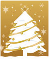 Free Gold Christmas Stock Images - 7032994