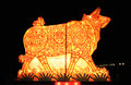 Free The Chinese Lantern Of Bull Stock Photo - 7033310