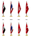 Free Conference Flags Stock Photography - 7034602