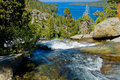 Free Waterfall By Emerald Bay Stock Images - 7039264