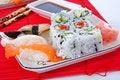 Free Sushi And Maki Royalty Free Stock Photography - 7039447