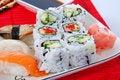 Free Sushi And Maki Royalty Free Stock Photo - 7039465